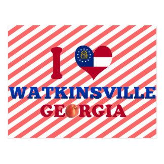 I Love Watkinsville, Georgia Post Cards