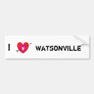 I Love Watsonville* Bumper Sticker