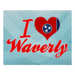 I Love Waverly, Tennessee Posters