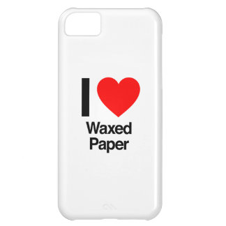 i love waxed paper iPhone 5C cover