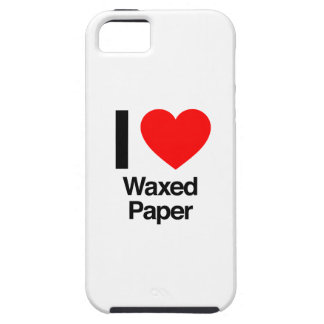 i love waxed paper iPhone 5 case