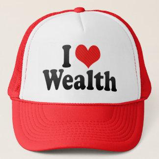 I Love Wealth Trucker Hat