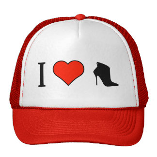 I Love Wearing Ankle High Boots Trucker Hat