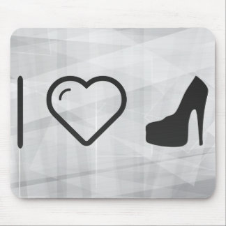 I Love Wearing Heels Mouse Pad