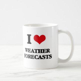 I Love Weather Forecasts Coffee Mug