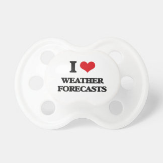 I love Weather Forecasts BooginHead Pacifier