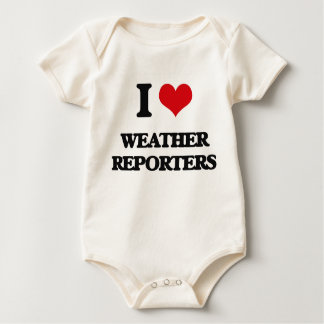 I love Weather Reporters Rompers