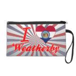 I Love Weatherby, Missouri Wristlet Purses