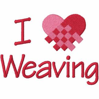 I Love Weaving Hoodie