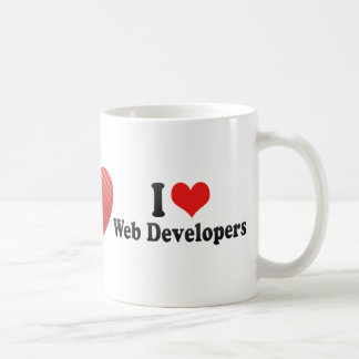 I Love Web Developers Coffee Mug