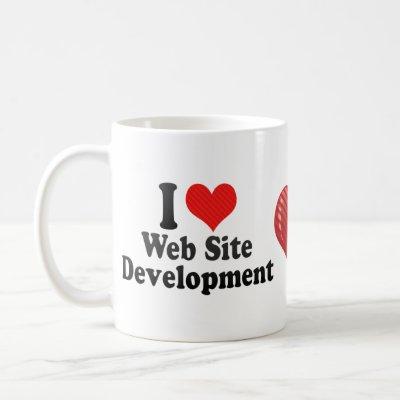 i love web site development mug from zazzle love site 400x400