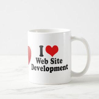 I Love Web Site Development Mug