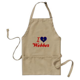 I Love Webber, Kansas Apron