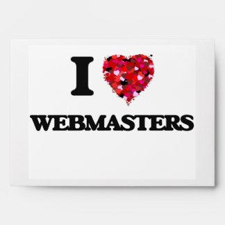 I love Webmasters Envelope