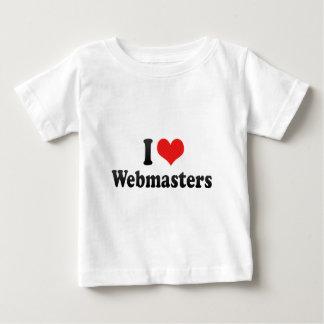 I Love Webmasters Tshirts