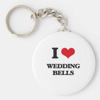 I Love Wedding Bells Keychain