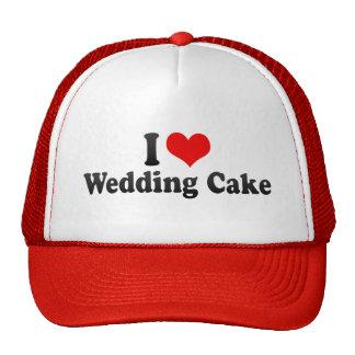 I Love Wedding Cake Hats