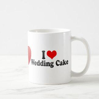 I Love Wedding Cake Mugs