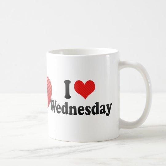 I Love Wednesday Coffee Mug