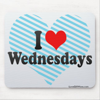 I Love Wednesdays Mouse Pad