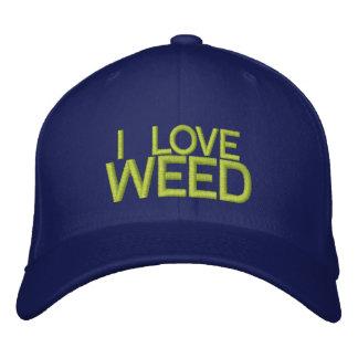 I LOVE WEED - Customizable Baseball Cap