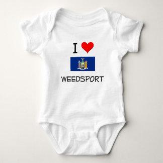 I Love Weedsport New York T-shirt