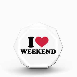 I love weekend award