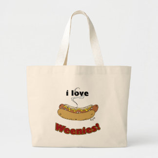 I Love Weenies ~ Hot Dogs Bags