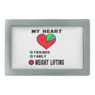 I love Weight Lifting. Belt Buckles