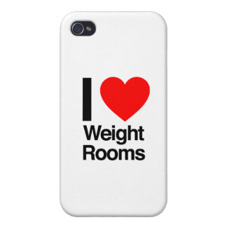 i love weight rooms iPhone 4/4S cover