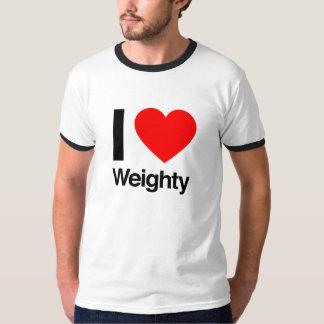i love weighty T-Shirt
