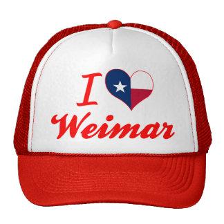 I Love Weimar, Texas Trucker Hat