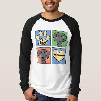 I Love Weimaraners Shirt