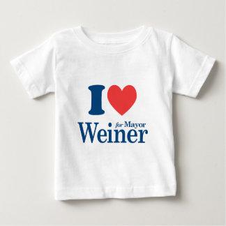 I Love Weiner Baby T-Shirt