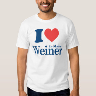 I Love Weiner T-Shirt