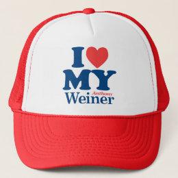 I Love Weiner Trucker Hat