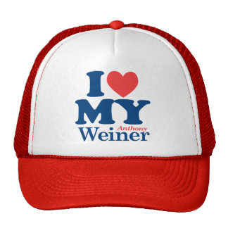 I Love Weiner Trucker Hat