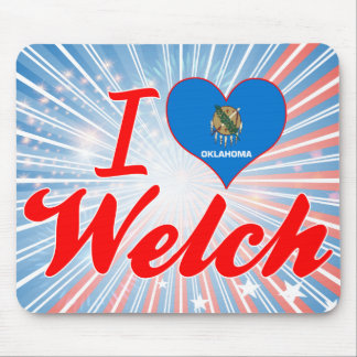 I Love Welch, Oklahoma Mouse Pads