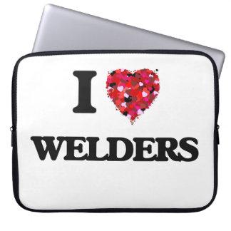 I love Welders Laptop Computer Sleeve