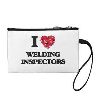 I love Welding Inspectors Coin Purse