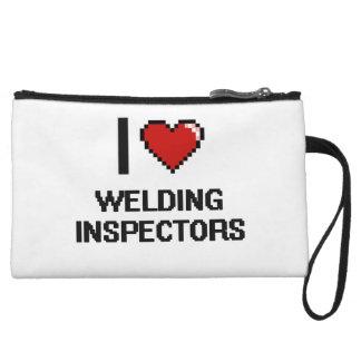 I love Welding Inspectors Wristlet Clutch