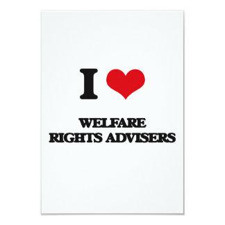 I love Welfare Rights Advisers Custom Invitations