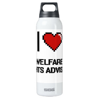 I love Welfare Rights Advisers 16 Oz Insulated SIGG Thermos Water Bottle