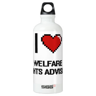 I love Welfare Rights Advisers SIGG Traveler 0.6L Water Bottle