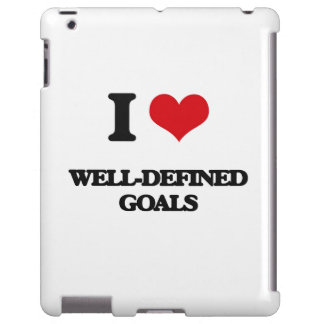 I love Well-Defined Goals