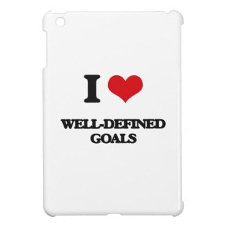 I love Well-Defined Goals Case For The iPad Mini