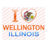 I Love Wellington, IL Post Card