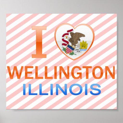 I Love Wellington, IL Poster