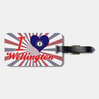 I Love Wellington, Kentucky Luggage Tag