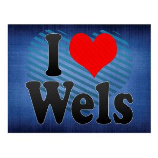 I Love Wels, Austria Postcard